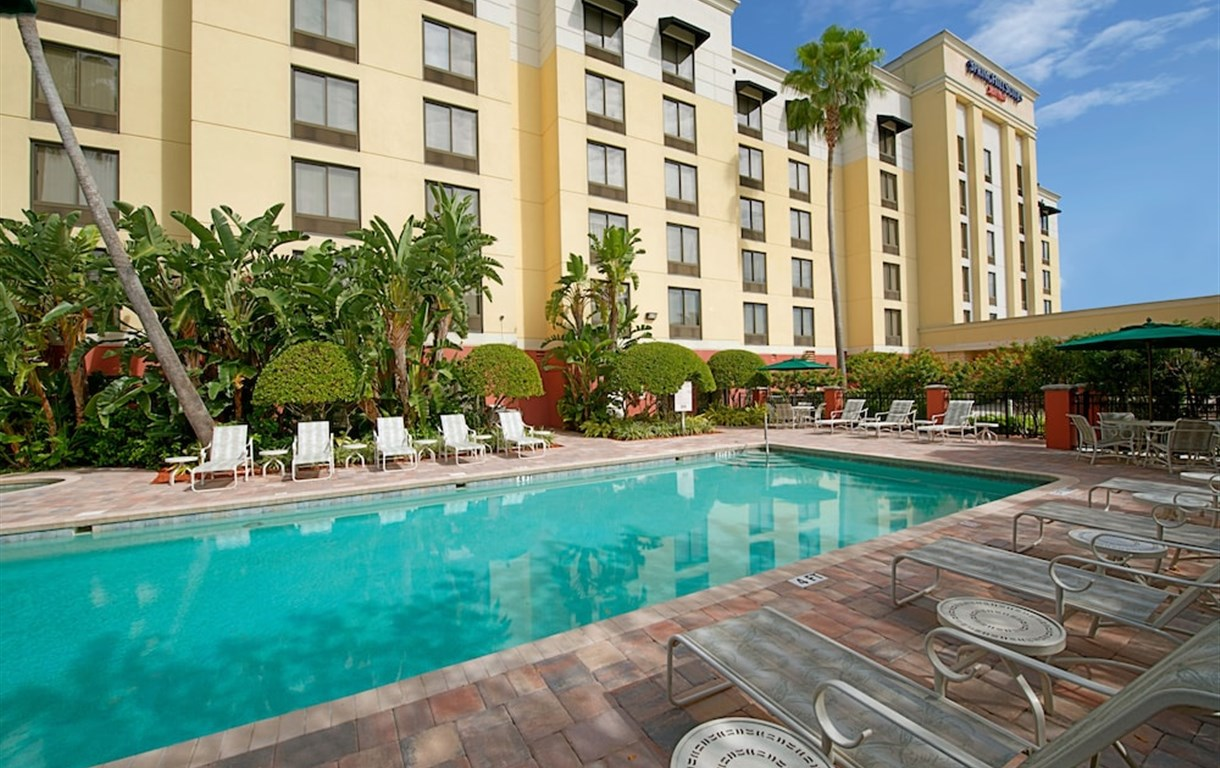 Hotel Springhill Suites By Marriott Tampa Westshore Airport Tampa