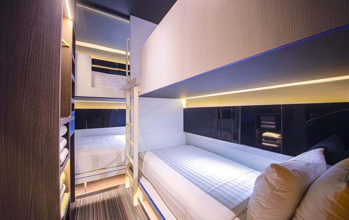 CUBE - Family Boutique Capsule Hotel @ Chinatown
