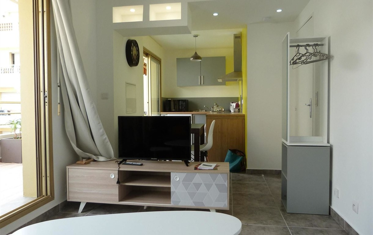 Studio In Nice, With Furnished Terrace And Wifi