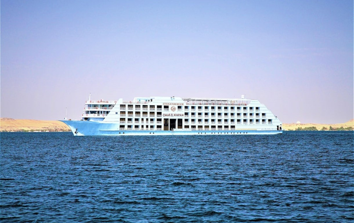 Steigenberger Omar El Khayam Nile Cruise - Every Monday from Aswan for 07 & 04 Nights - Every Friday From Abu Simbel for 03 Nights