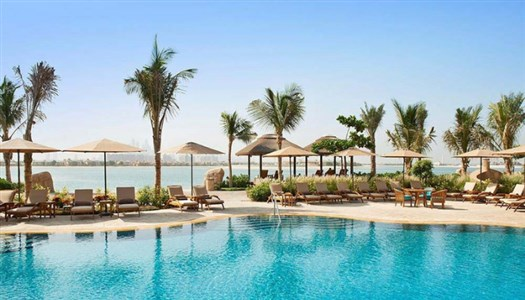 Sofitel Dubai Palm Jumeirah*****Resort med privat strand, SPA og tennisbaner.